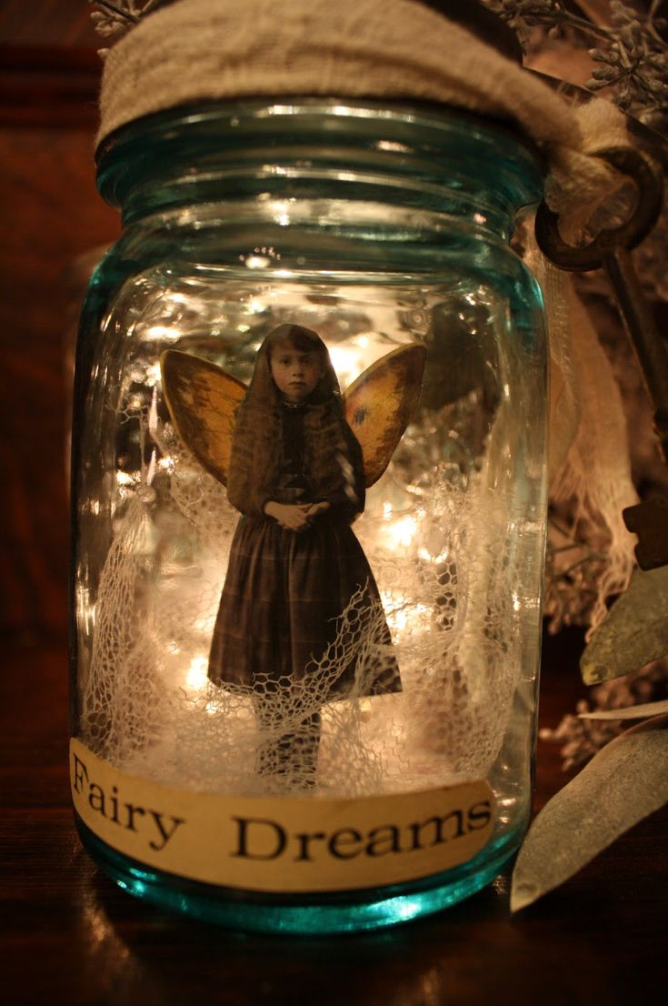 "etsy fairy in a jar | Fairy Dreams"" is a song I found while sorting through some old sheet ..."