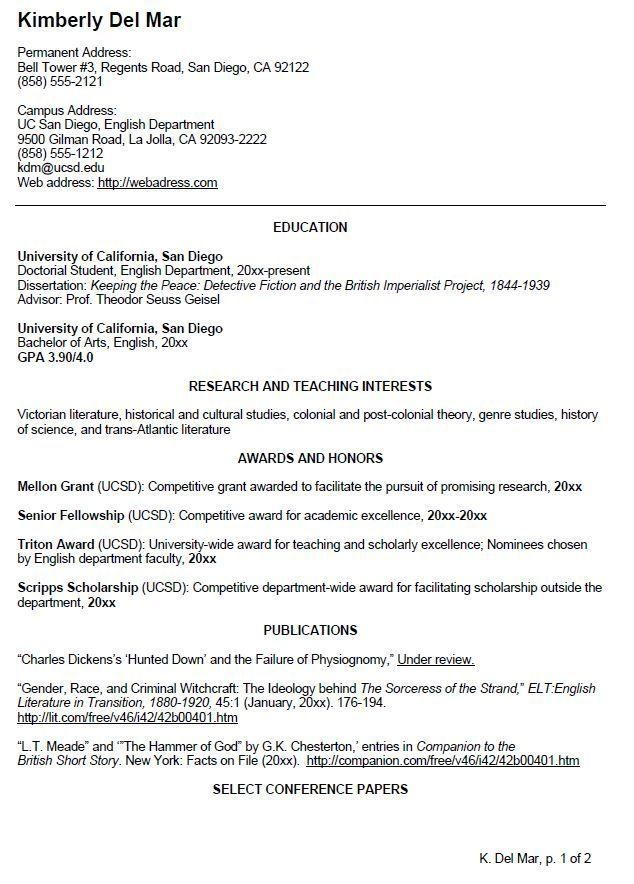 Cv Template Undergraduate Student Student Resume Template In 2020 Teacher Resume Examples Cv Template Student Student Resume