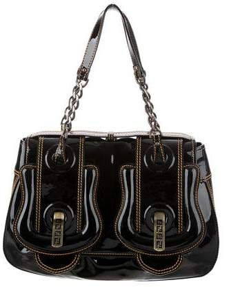 e8d39c6612da Patent Leather B. Bag  link top dual