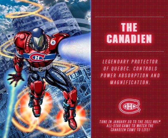 Le Canadien / The Canadien