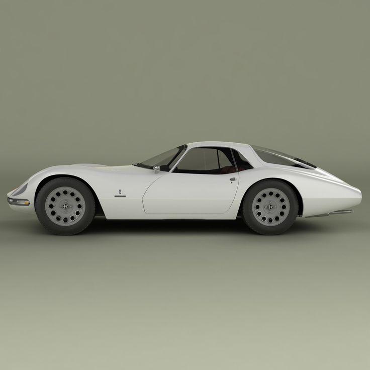 1965 Alfa Romeo Giulia 1600 TZ Pininfarina