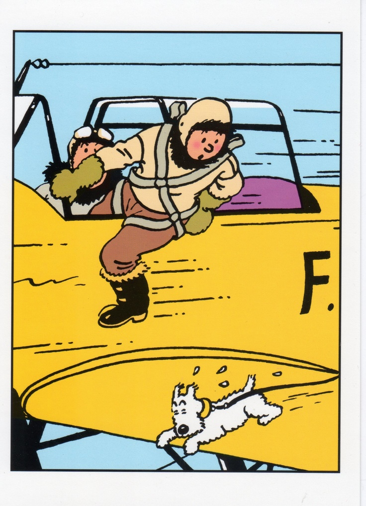 The Shooting Star • Tintin, Herge j'aime