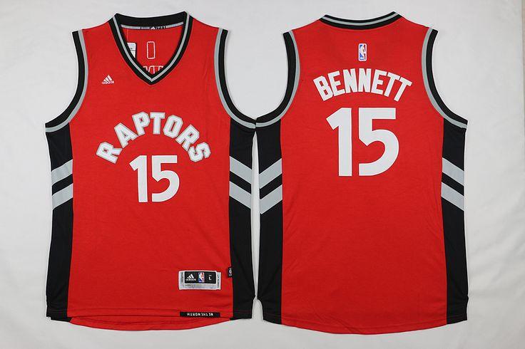 06ff3ff1a ... Raptors 15 Anthony Bennett Red Jersey wholesale cheap NBA Toronto  Raptors Jerseys Pinterest Toronto Raptors 15 Vince Carter Hardwood Classic  White ...