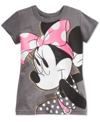 Disney's® Minnie Mouse Graphic-Print T-Shirt, Toddler & Little Girls (2T-6X) | macys.com