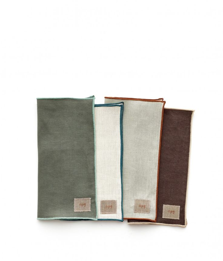 <p>Available in hues to complement our seasonal collection, these napkins by Non-Perishable Goods elevate the everyday with their beautiful simplicity. Perfectly sized for a casual meal, the 100% linen material gets better and better with time. The NPG label is sewn only on one napkin. Designed and sewn in Portland, OR. Set of 6.</p>