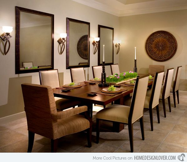 15 Beautiful Contemporary Dining Room Sets