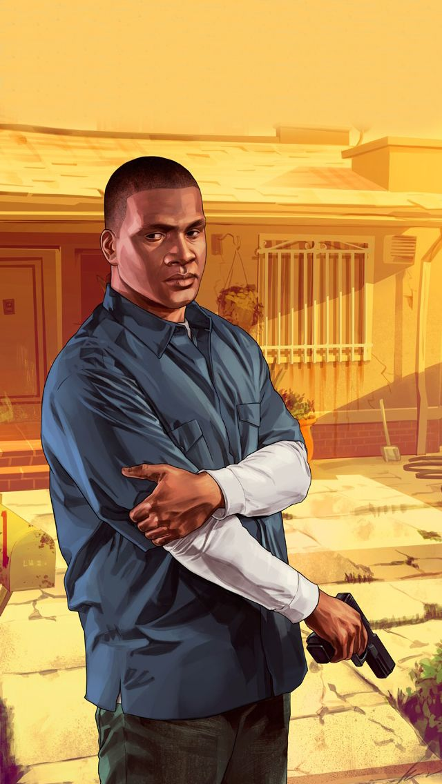 GTA 5:                               Franklin                                   My favourite character