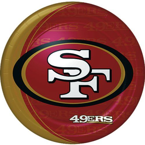 San Francisco 49ers Dinner Plates