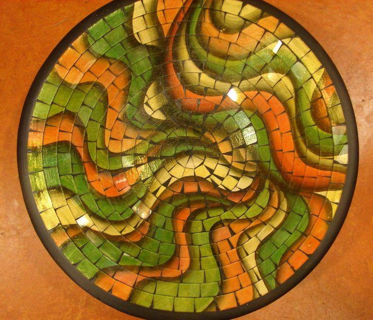 Mozaiek schaal Wereldwinkel Zevenbergen