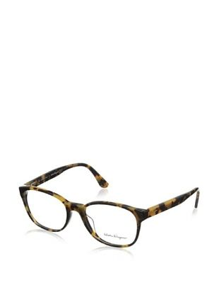 60% OFF Salvatore Ferragamo Women's FS2619 Eyeglasses, Havana Vintage