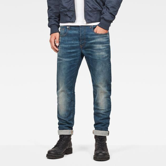 0414bd25661 The 3301 Slim Jeans is cut from 5-dip indigo denim with Lycra-infused yarns  for stretch. The G-Star 3301 is a style neutral jean with classic 5-pocket  ...