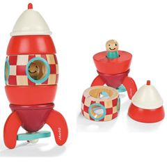 It is unbreakable and also a little bit stylish. The magnetic aspect is achievable for little hands and the little man inside is much loved ( fits well into little people's pockets). The present to gift to any child under four.