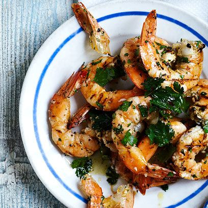 Grilled Prawns Recipe. For the full recipe and more, click the picture or visit RedOnline.co.uk