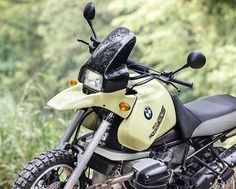 This resto-modded BMW R 1100 GS from... - Bike EXIF