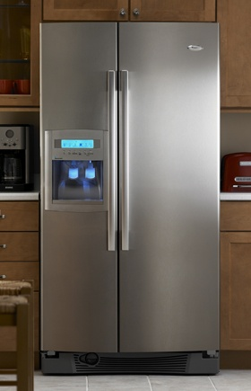 Kitchens.com - Professional Features, Personal Style - Whirlpool ResourceSaver Refrigerator