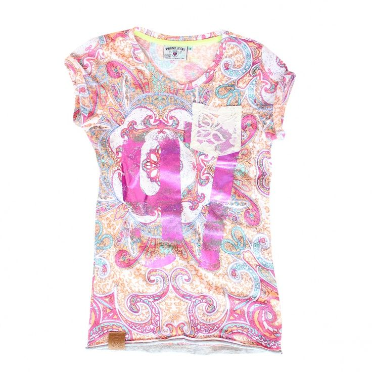 Vingino Meisjes Shirt Hasina | Meisjes Shirts | Danystore Kinderkleding.