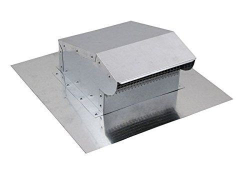 Bath and Kitchen Exhaust Vent - Galvanized 4 inch >>> Click on the image for additional details.