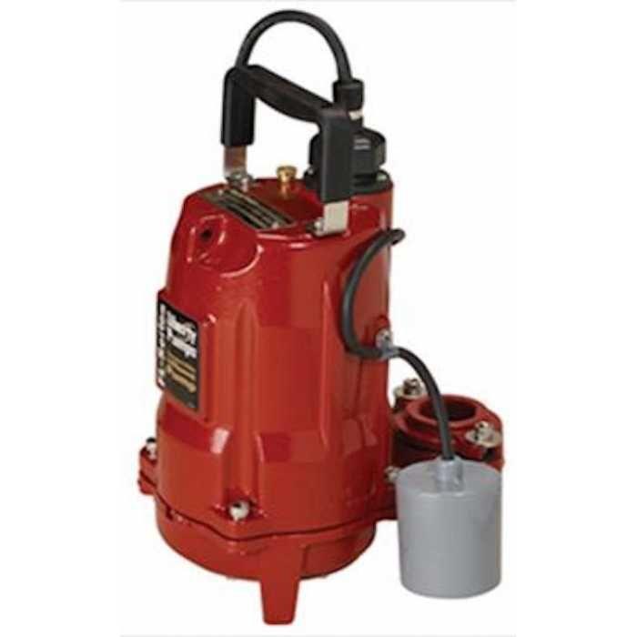 Liberty Pumps FL51A, 1/2 HP Auto. Effluent Pump, Wide Angle Float Switch, 115V, 10' cord