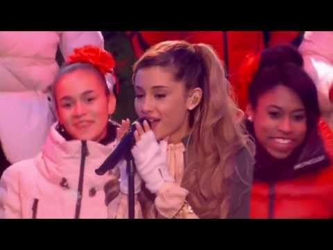 ▶ Ariana Grande - Love Is Everything (Live at Rockefeller Center) - YouTube