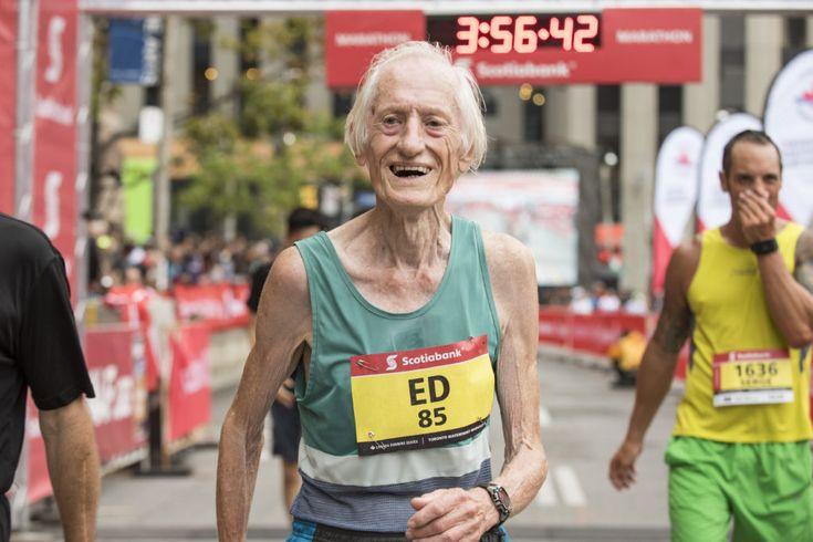 Ed Whitlock Sets World Age 85 Marathon Record at STWM