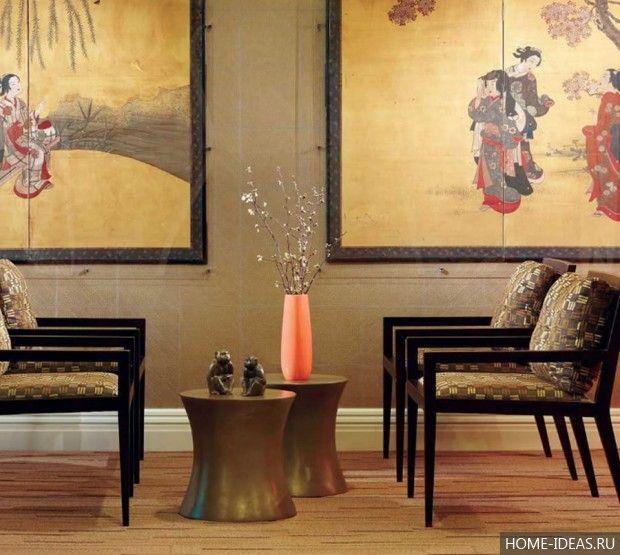 Японский стиль в интерьере (25 фото), как оформить интерьер в японском стиле