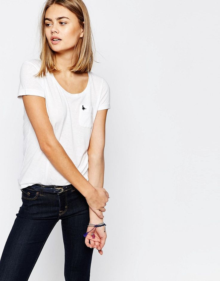 Image 1 ofJack Wills Fulford Round Neck T-Shirt With Pocket