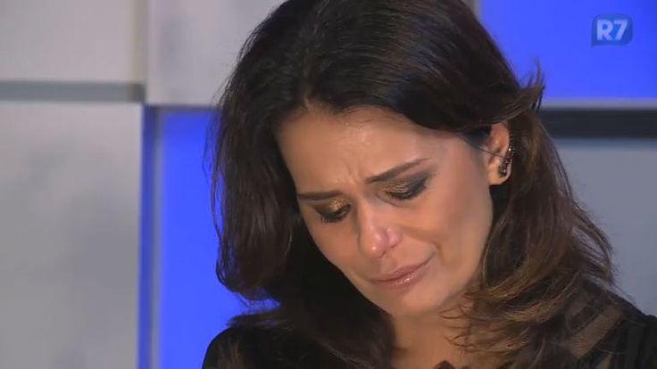 Adriana Araújo abre o coração e fala sobre carta que revela história emocionante da filha - Vídeos - R7