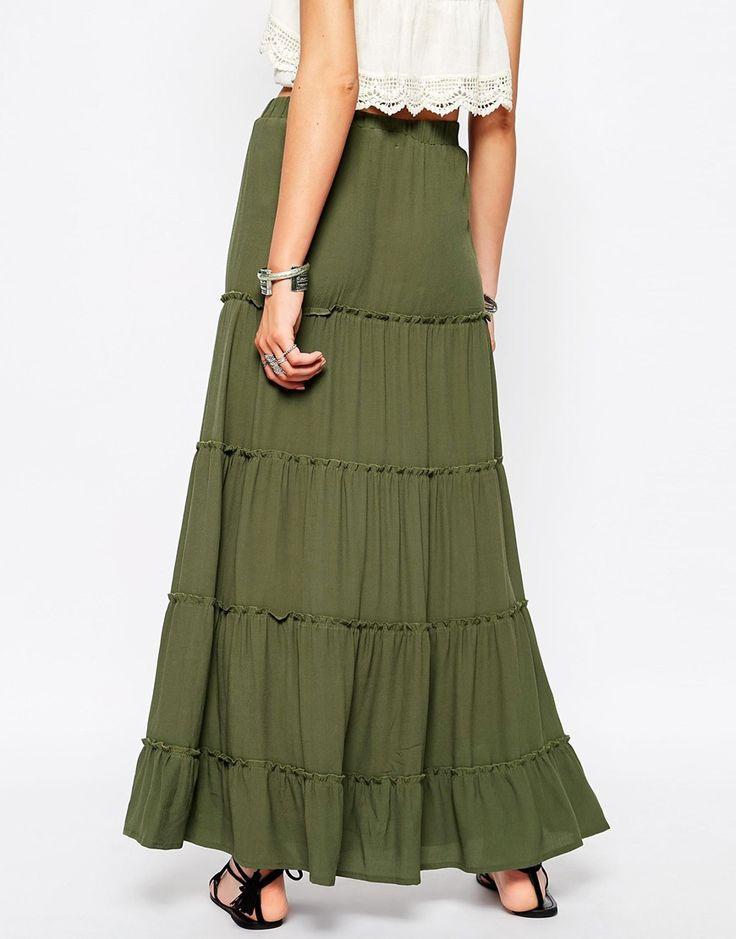 Image 2 ofGlamorous Tiered Maxi Skirt