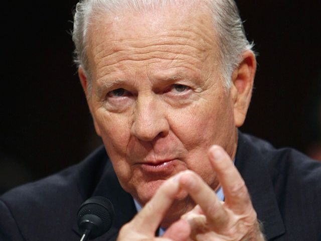 JEB BUSH DISTANCES HIMSELF FROM HIS NEWLY-APPOINTED FOREIGN POLICY ADVISOR -- JAMES BAKER III -- ON ISRAEL -- Mon night Baker was keynote speaker at J Street, a left-winged Soros funded ANTI-Israel organization - Breitbart