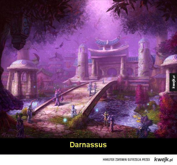 Świat Warcrafta na grafikach koncepcyjnych autorstwa Petera Lee