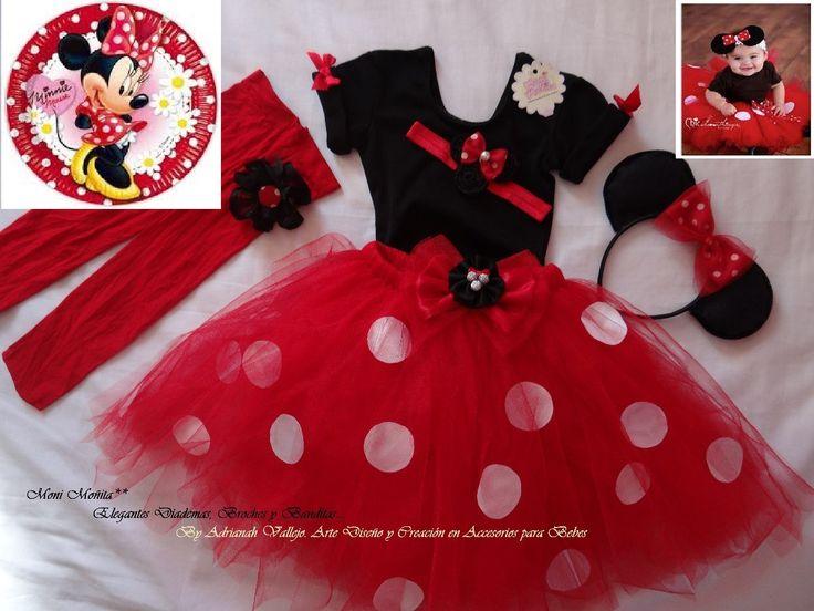 Ropa Infantil Vestido De Fiesta Minnie Coqueta en MercadoLibre México