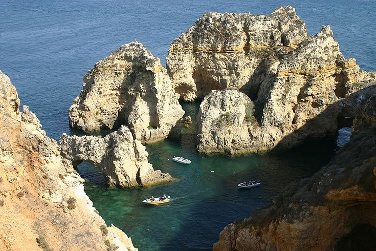 Ponta da Piedade, Lagos´ number 1 attraction, is a stunning section of coastline, consisting of caves, grottos and sea arches that nature has sculpted over thousands of years - http://www.ealgarve.com/destinations/lagos/