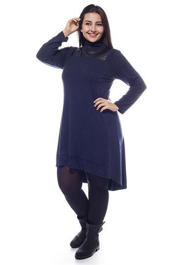 Balıkçı Yaka Elbise                            (164)