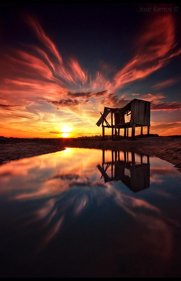 Landscape Photography by Jose Ramos | Cuded- the burst of color evokes excitement, calm and mystery