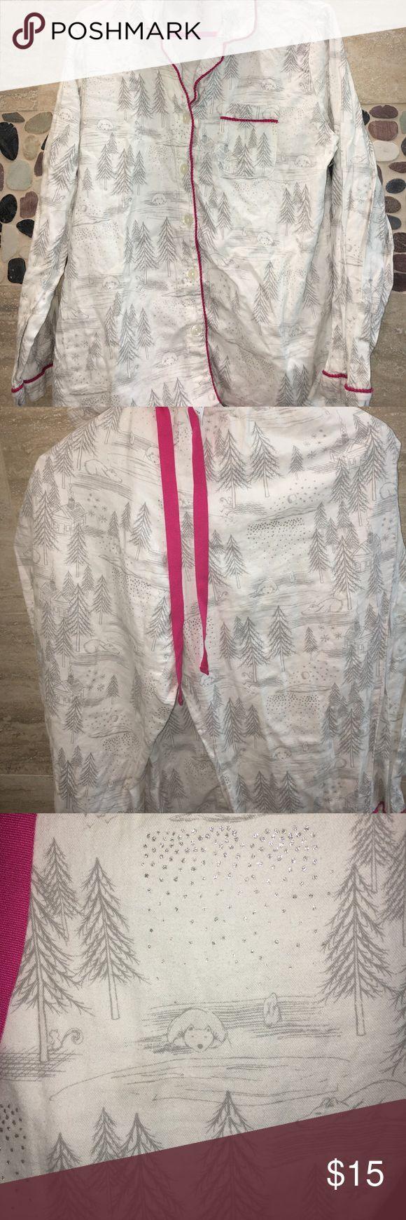 Gillian & O'Malley sleepwear set 100% cotton 🌸 in great condition Gilligan & O'Malley Intimates & Sleepwear Pajamas