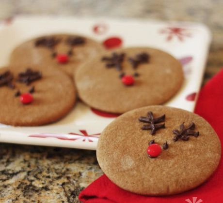 Homemade Christmas Edible Gifts - Gingerbread Cookies