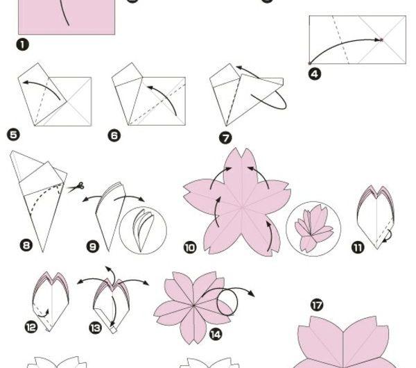 origami-facile-fleur-pliage-cerisier-de-japon-duration-tutoriels