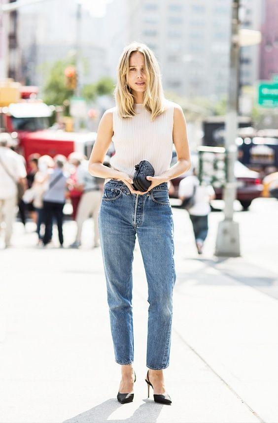 デニム パンツ denim トレンドデニム ファッション fashion 2016年 ストレートライン ハイウエスト