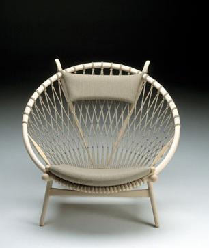hans wegner - circle chair