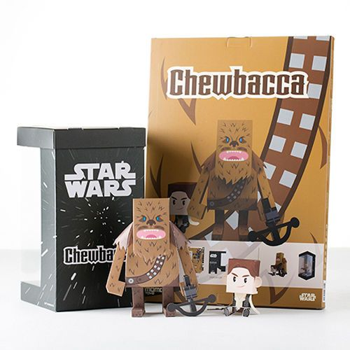 Paper Toy - STARWARS (Chewbacca) Made in Korea MOMOT in Toys & Hobbies | eBay