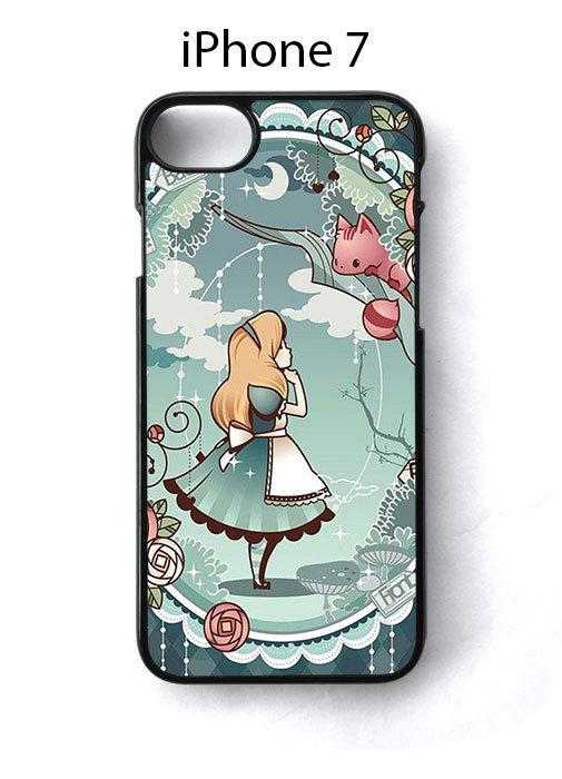 Alice in Wonderland Cartoon iPhone 7 Case Cover
