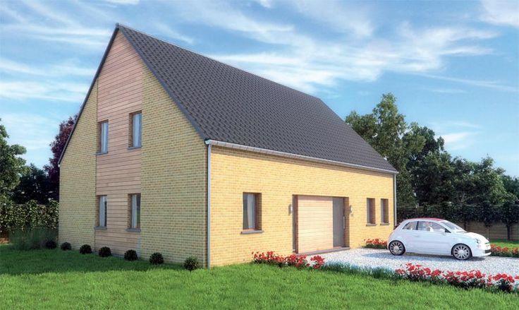 Maison plain-pied 113 m²   JUMATT - L'ossature bois