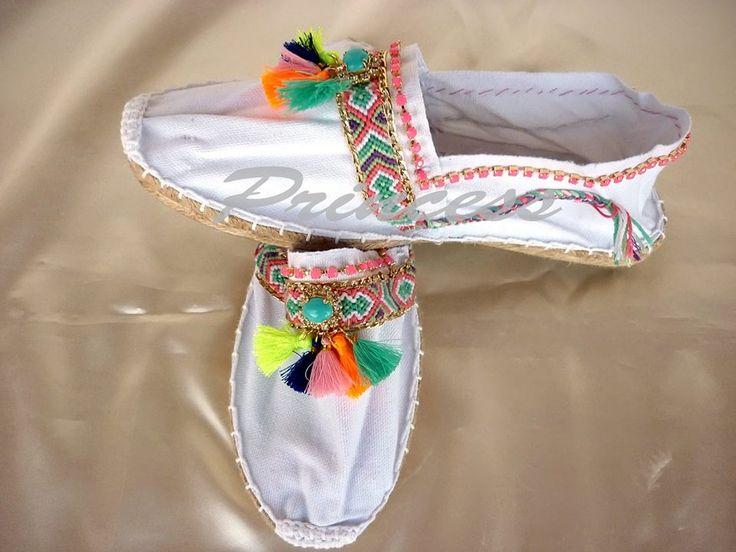 #espadrilles #decorated #handmade