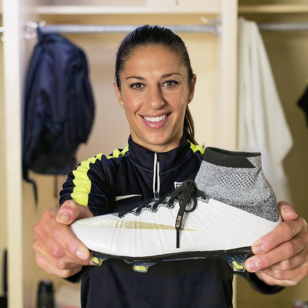 Carli Lloyd's new nike cleats, AWESOME!!!!!!!!! Can't look or play better. Wish I had them!!!!!!!!!!!!!!!!!!!!!!!!