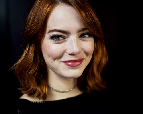 Emma Stone photographed by Jabin Botsford for The Washington Post