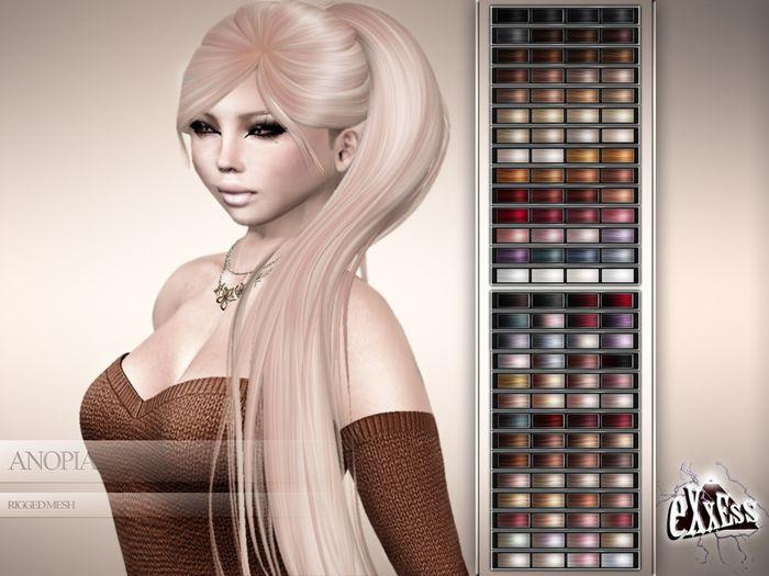 eXxEsS : Anopia Mesh Hair – Demo