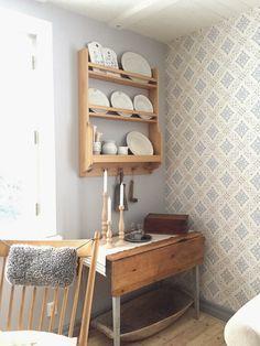 Bildresultat för snygga tapeter vardagsrum