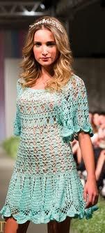 ,: Hook, Dresses Crochet, Crochet Dresses, 19 Crochet, Dresses 2013, Crochet Blusa Túnica Tops, Crochet Tops, Crochet Clothing