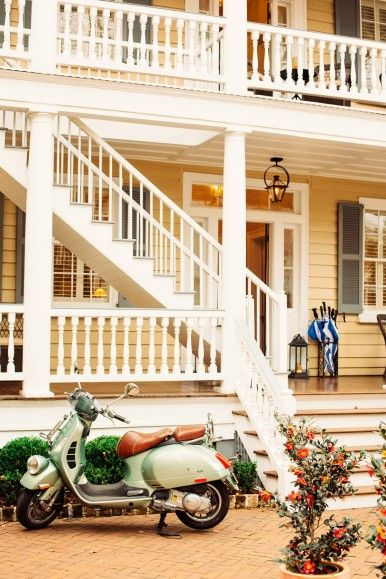 Timeless Southern Charm at Zero George Street - a boutque hotel in Charleston, SC.