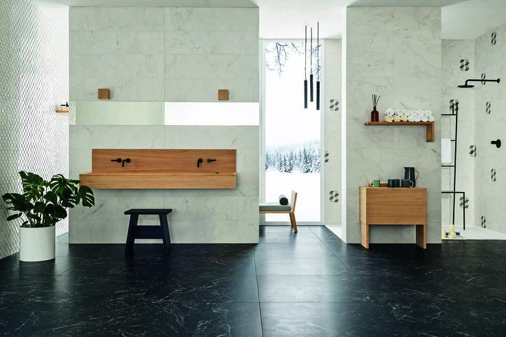 #Marazzi   #Allmarble   #porcelain   #tiles   #bathroom   #marbleeffect   #andreaferrari   #floor   #walls
